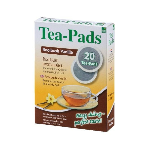 Teepads Tea-Friends Rooibush Vanille