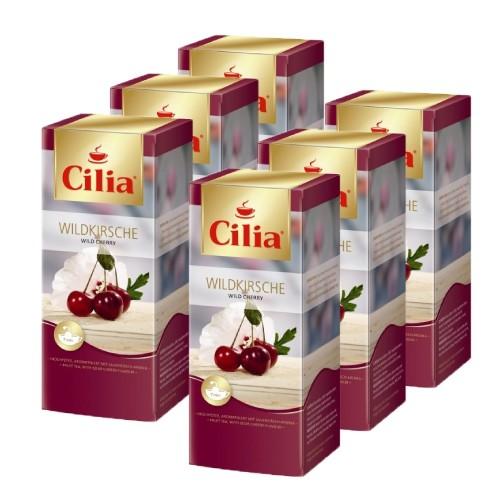 Cilia ® Tee Wildkirsche 6 x 25 Teebeutel