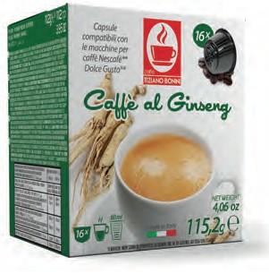 Caffè Bonini CAFFÈ AL GINSENG - 16 Kaffeekapseln Dolce Gusto®*