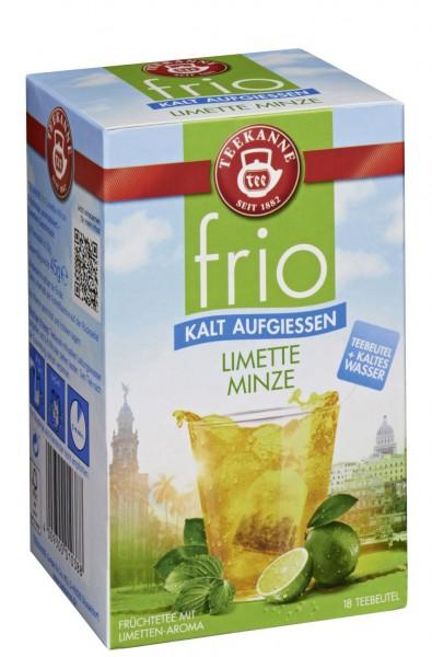 Teekanne FRIO Limette Minze 18 Beutel