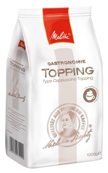 Melitta ® Gastronomie Topping Instant 1000 g - MHD: 31.03.2020