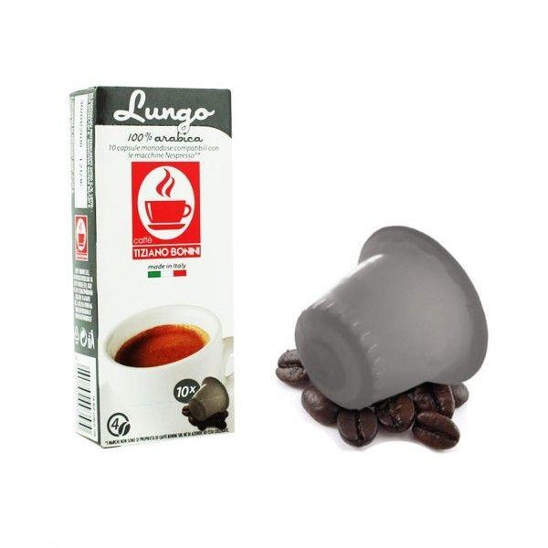 Caffè Bonini Lungo Kompatible Kapseln Nespresso ®*
