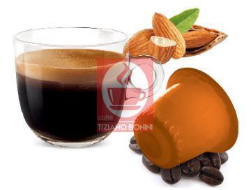 Bonini iCapricci MANDORLINO - 10 Nespresso®* kompatible Kapseln - MHD: 30.09.2021