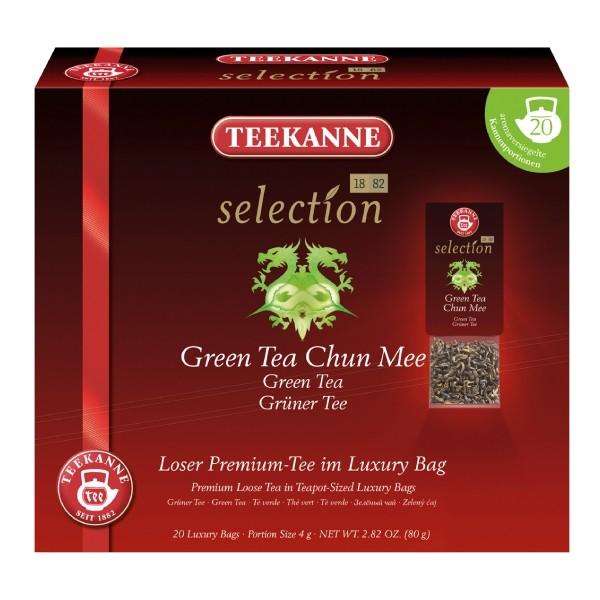 Teekanne Selection Green Tea Chun Mee 20 Kannenportionen
