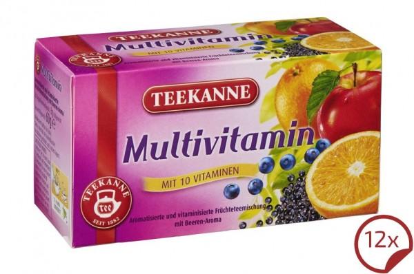 Teekanne Multivitamin Früchtetee 12 x 20 Beutel