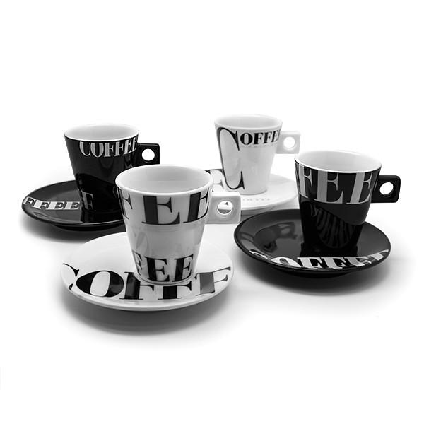 ZELLER Cappuccino-Set 8-tlg. Coffee-style