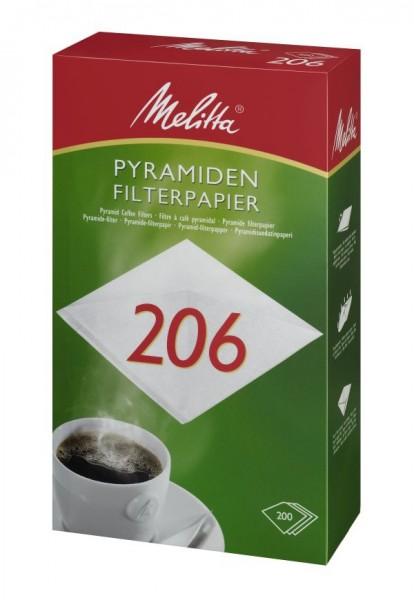 Melitta® Filtertüten 206 (Pa SF 206 G), 200 Stück