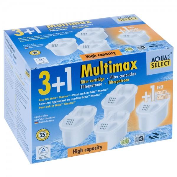 Aqua Select Wasserfilter 3+1 wie Brita™