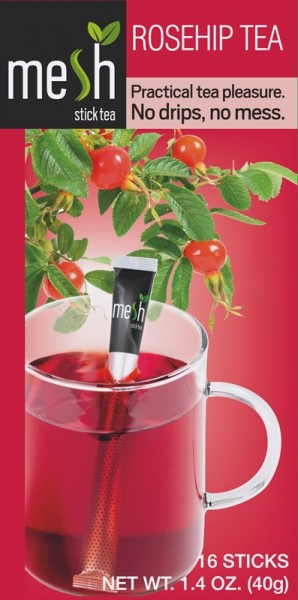 Mesh Tea Stick Roseship Tea/Hagebutte Tee 16 Stück