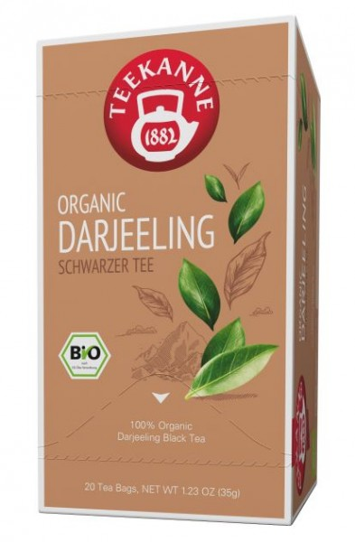 Teekanne ORGANIC DARJEELING - 20 Teebeutel à 1,75 g
