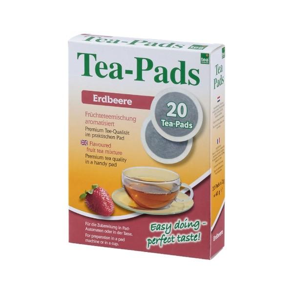 Teepads Tea-Friends Erdbeere