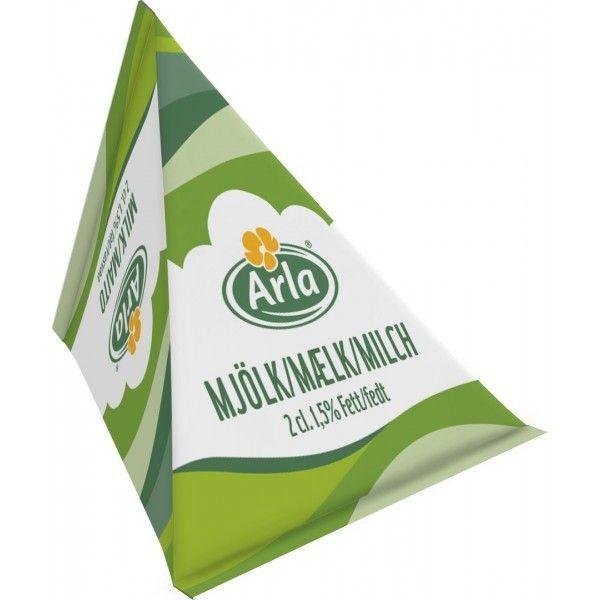 Arla Milch 1,5 % Fett 100 x 20 ml Kaffeemilch - MHD: 29.03.2022