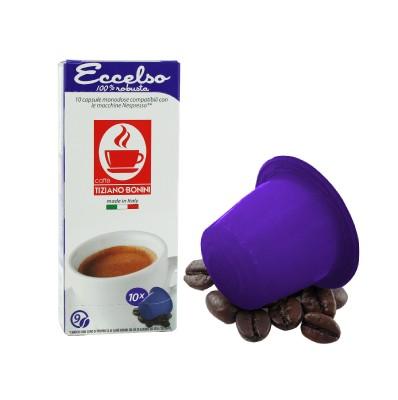 Caffè Bonini ECCELSO - 10 Kompatible Kapseln Nespresso ®*