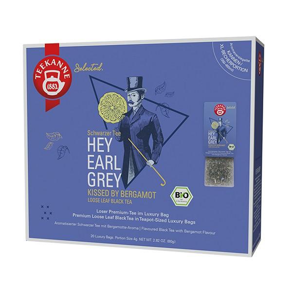 Teekanne Selected Hey Earl Grey Luxury Bag - 20 Kannenportionen à 4 g