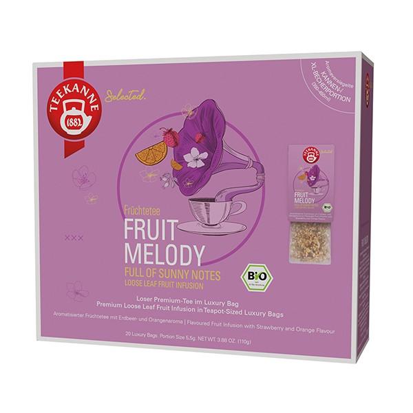 Teekanne Selected Fruit Melody Luxury Bag - 20 Kannenportionen à 5,5 g