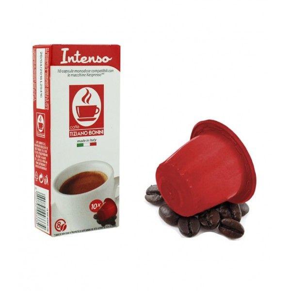 Caffè Bonini INTENSO - 10 Kompatible Kapseln Nespresso ®*