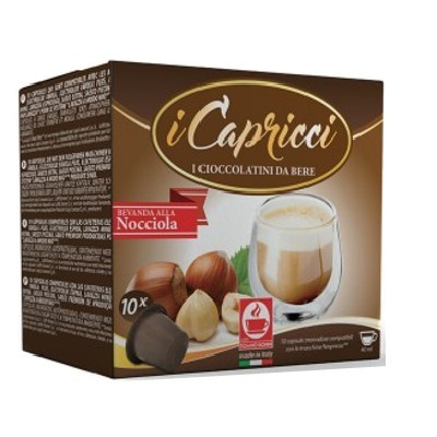 Bonini iCapricci Nocciola/Haselnuss - Nespresso ®* 10 Kapseln