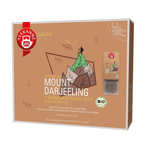 Teekanne Selected Mount Darjeeling - 20 Kannenportionen à 4 g