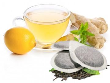 Bonini Tee - 10 ESE Pads Zenzero E Limone / Ingwer mit Zitrone
