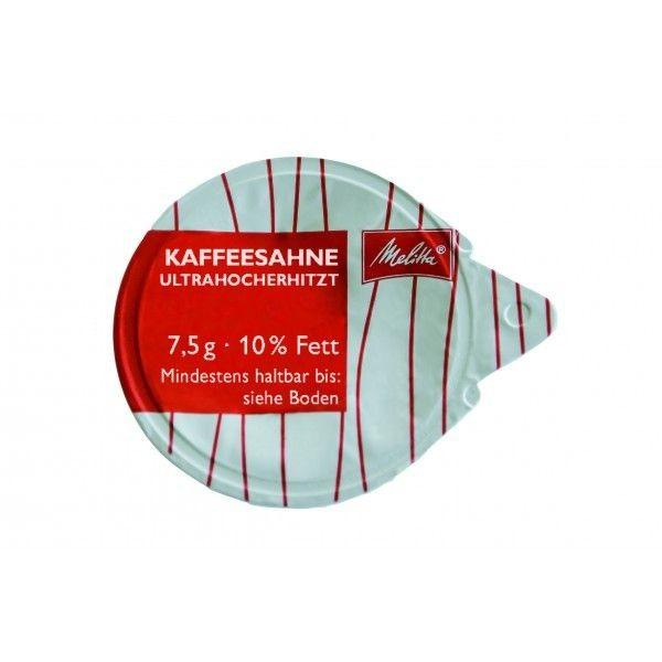 Melitta ® Kaffeesahne 240 x 7,5 g, 10% Fett - MHD: 04.03.2020