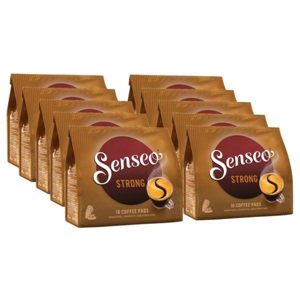 Kaffeepads Senseo ® Strong / Kräftig 10 x 16 Pads