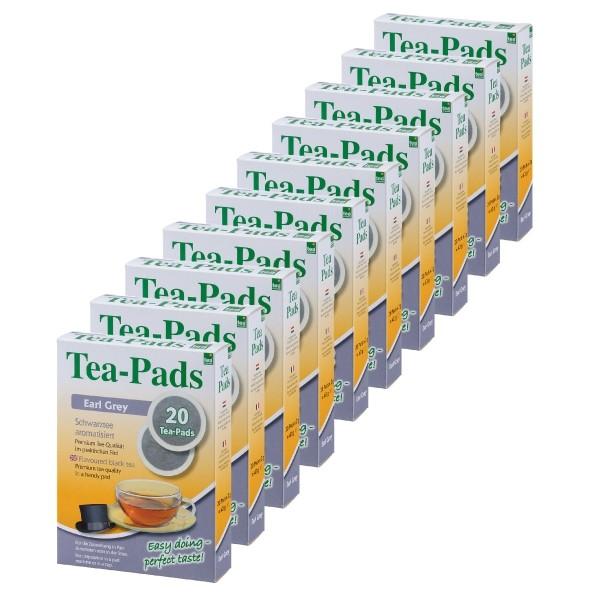 Teepads Tea-Friends Earl Grey 10 x 20 Pads