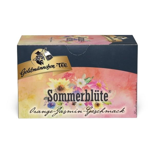 Goldmännchen Tee SOMMERBLÜTE Orange-Jasmin - 20 Tassenbeutel