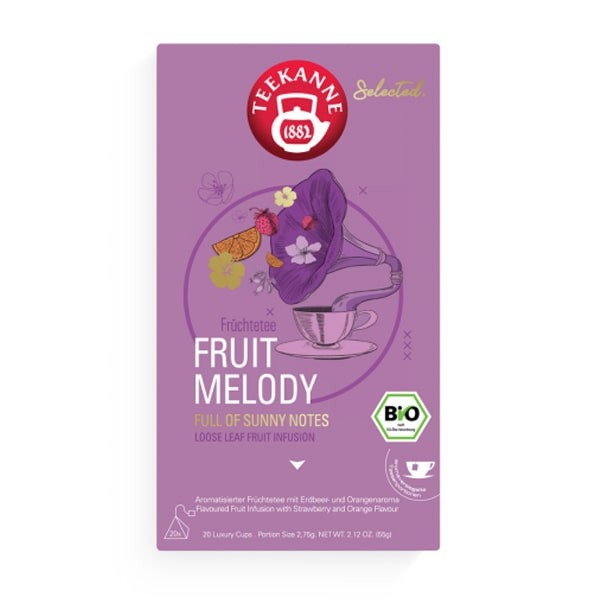 Selected Fruit Melody Luxury Cup 20 x 2,75 g