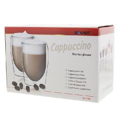 Scanpart Thermo Cappuccinoglas 2 Stück