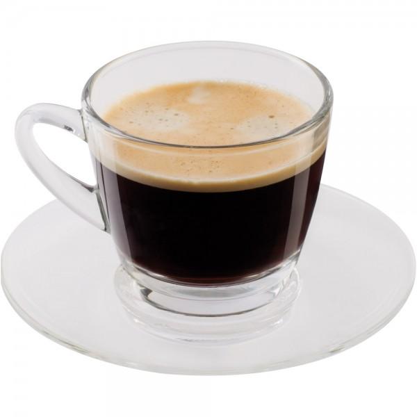 Scanpart Kaffee- und Untertassen 2 Stück Glas