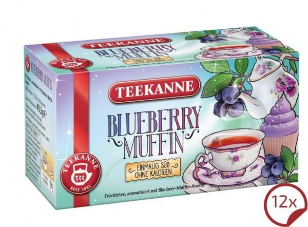 Teekanne Blueberry Muffin 12 x 18 Beutel