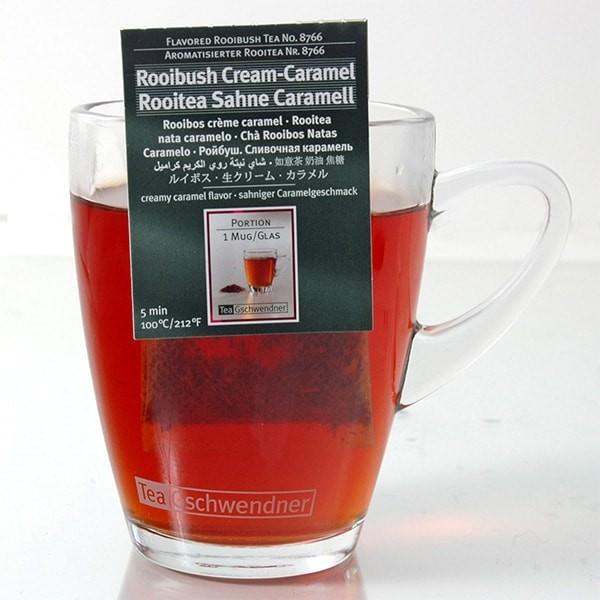 Tee Gschwendner - Rooibos Sahne-Caramel - 25 Teebeutel