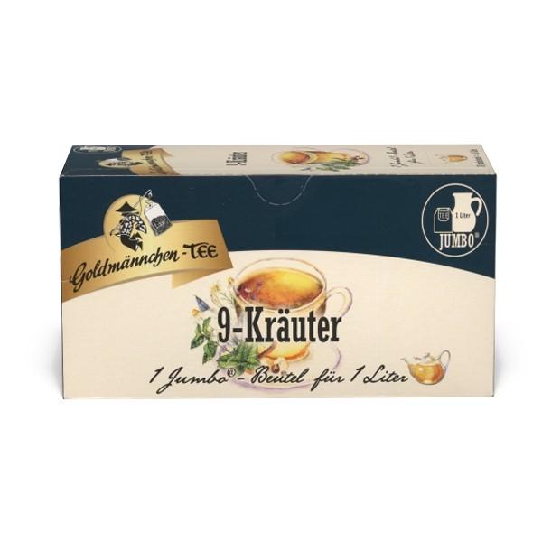 Goldmännchen Tee JUMBO 9-Kräuter-Tee - 20 Beutel