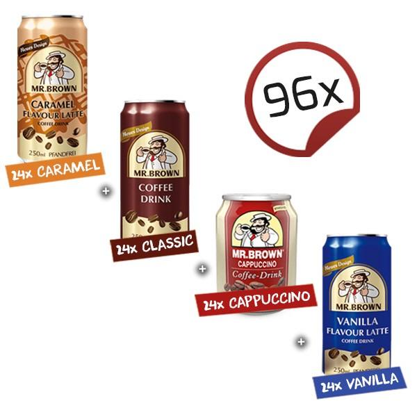 Mr. Brown Coffee-Drink SPECIAL - 4 x 24er Pack