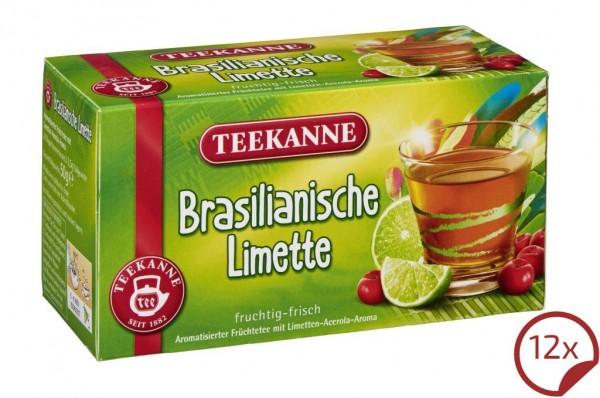 Teekanne Brasilianische Limette 12 x 20 Beutel