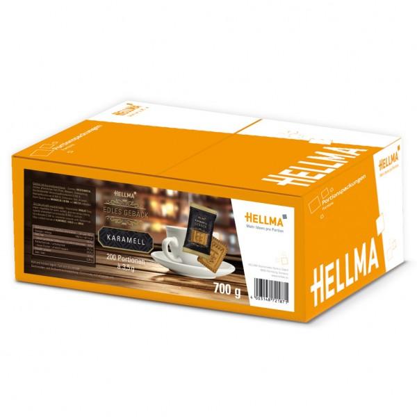 Hellma Edles Karamell-Gebäck 200 x 3,5g