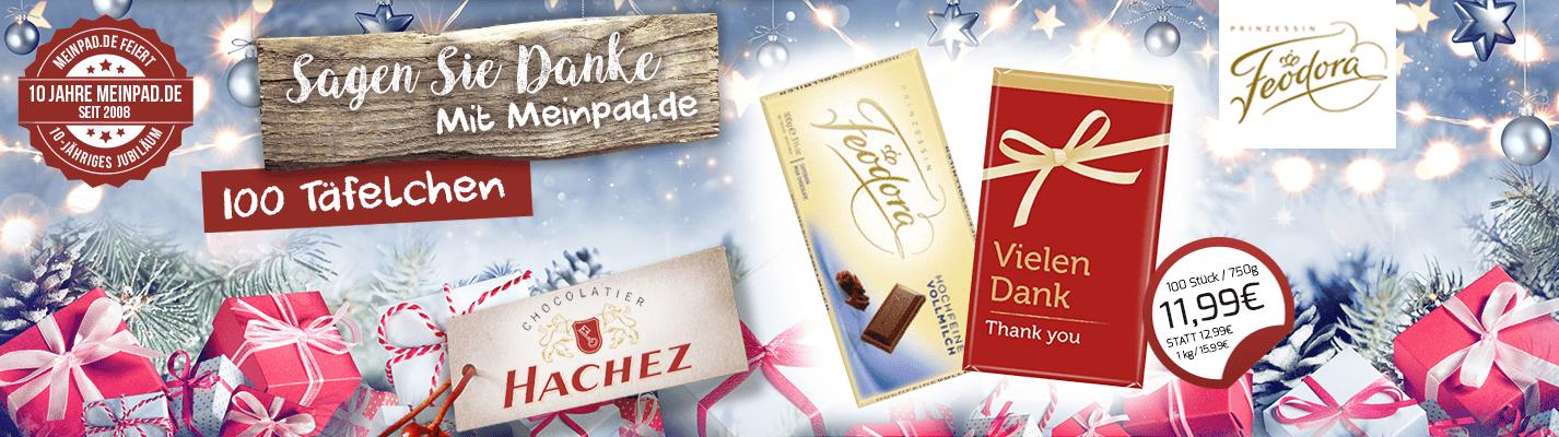 Hachez Feodoroa Schokolade