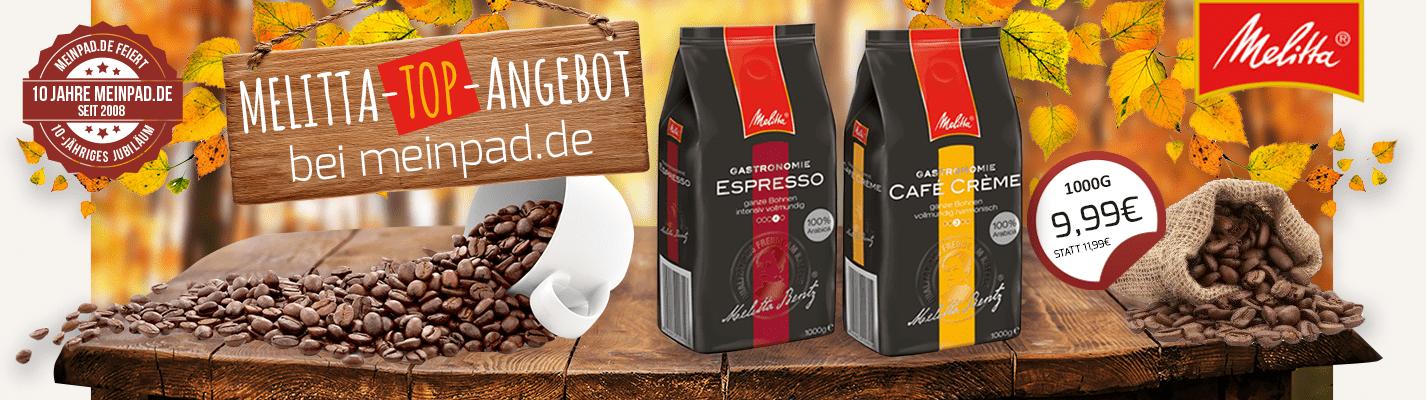 Melitta Kaffee im Angebot