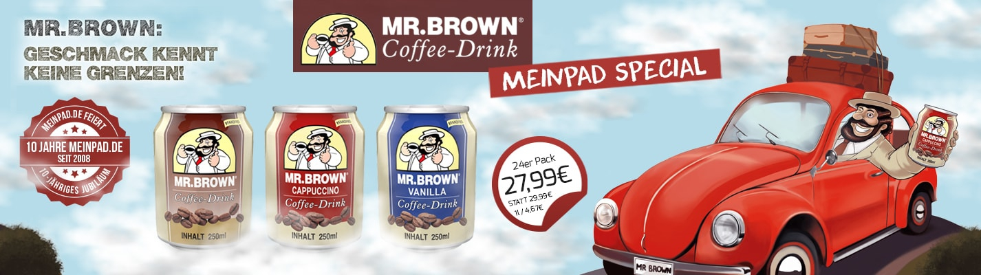 Mr. Brown Angebot