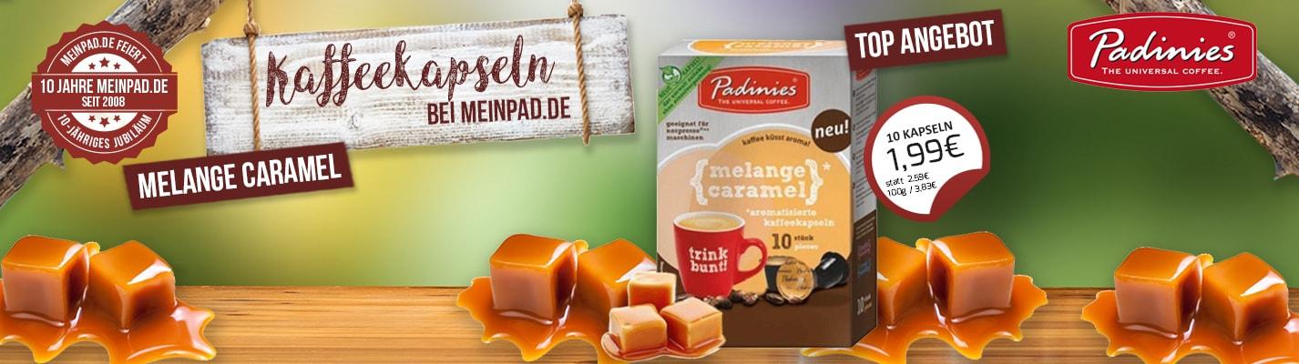 Padinies Melange Caramel Kompatible Kapseln Nespresso ®
