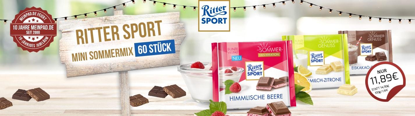 Ritter Sport Mini Sommermix 60 Stück