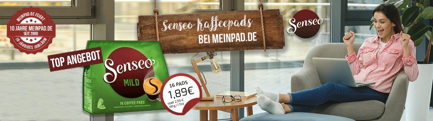 Kaffeepads Senseo® Mild