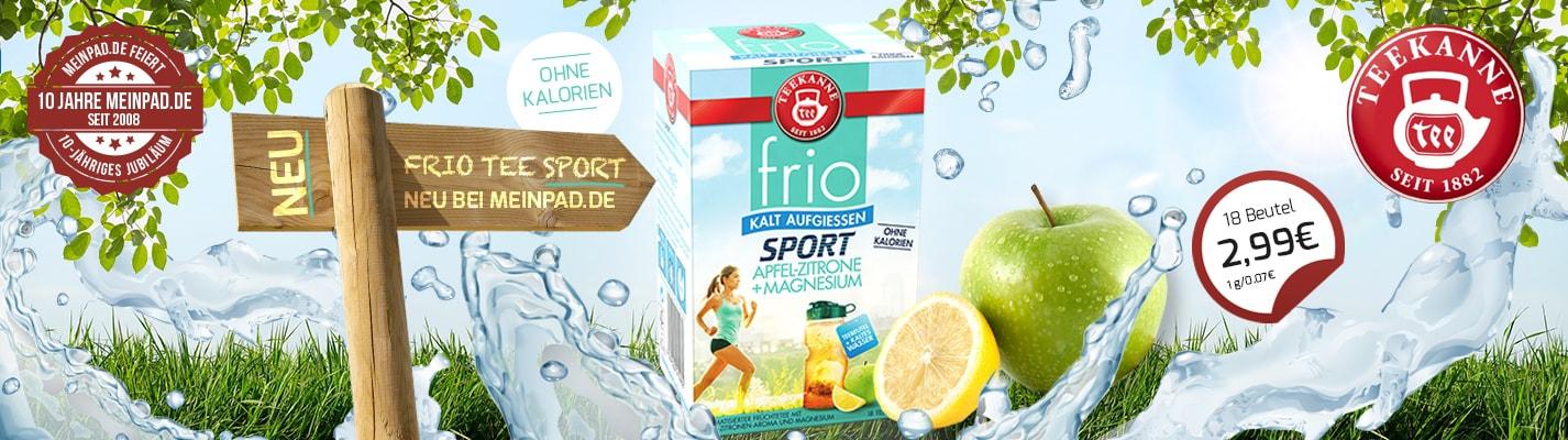Teekanne FRIO Sport 18 Stück