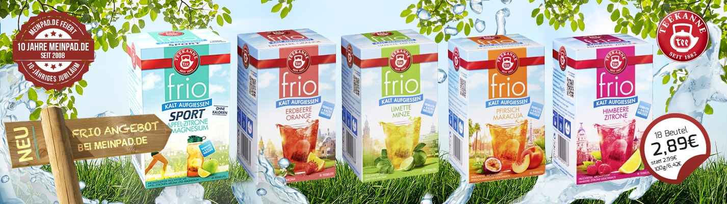 FRIO Tee - kalt aufgießen