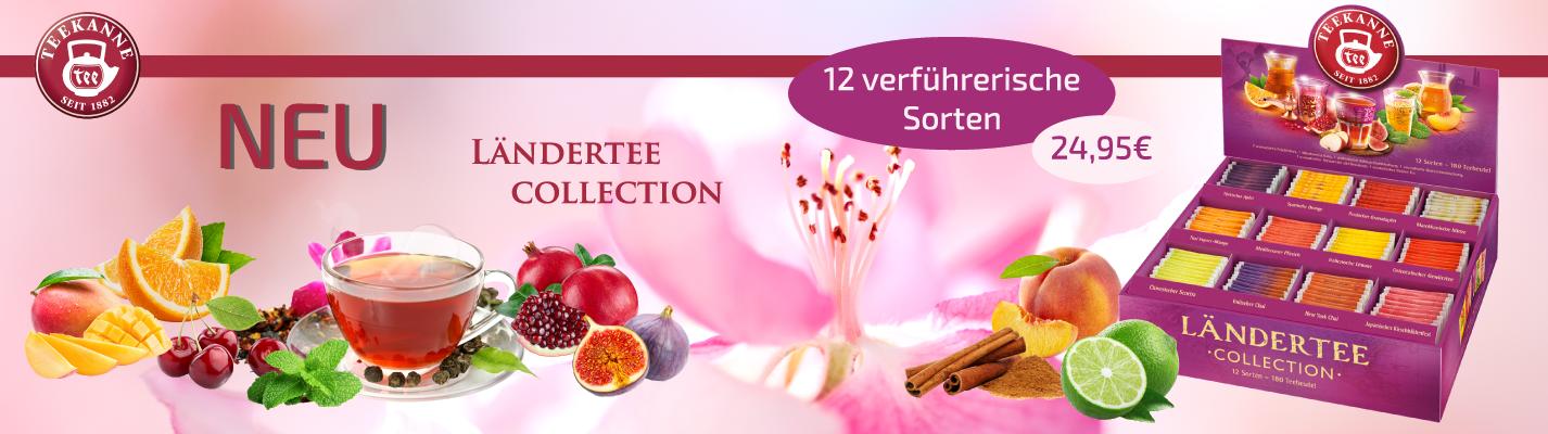 Teekanne Ländertee Collection